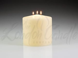 Pillar Candles von The London Candle Company Klassisch