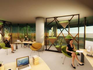 Ofis Ic Mekan Peyzaj Projesi Pil Tasarım Mimarlik + Peyzaj Mimarligi + Ic Mimarlik Tropikal Multimedya Odası