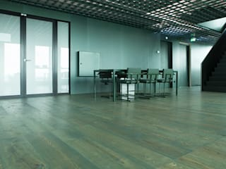 Wood flooring in A'dam Tower:  Kantoorgebouwen door Uipkes Wood Flooring