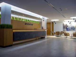 Oficinas Andamur JUANCHO GONZALEZ Estudios y despachos de estilo industrial