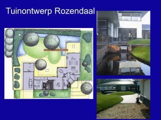 tuinontwerp Rozendaal:  Vijver door Antony Marcelis Landschapsarchitectuur