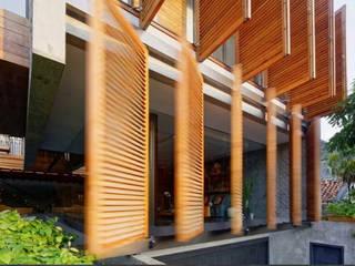 Dempo Rumah Batik: Teras oleh Jati and Teak, Modern