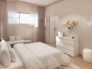 Chambre moderne par Dessiner Interior Architectural Moderne