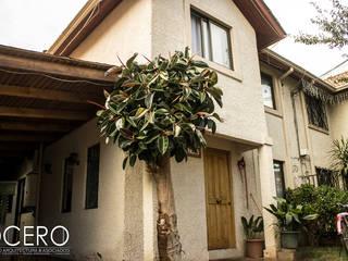 Casa habitacion Cerrillo 114m2: Casas de estilo  por Dcero Arquitectura