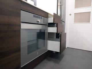 Grupo Inventia Cocinas equipadas Compuestos de madera y plástico Marrón