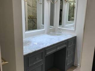 Salle de bain moderne par 캐러멜라운지 Moderne