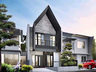 Clover Park Town House:  Rumah tinggal  by Atelier BAOU+