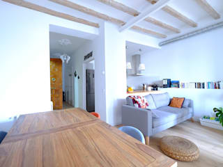Scandinavian style dining room by GPA Gestión de Proyectos Arquitectónicos ]gpa[® Scandinavian
