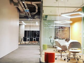 MR Mimarlık & Mühendislik – Ofis :  tarz Ofisler ve Mağazalar