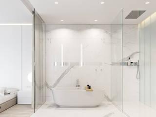 Banheiros minimalistas por Vica Riviera Minimalista