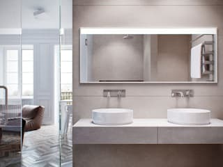 ИНТЕРЬЕР АM Vica Riviera Salle de bain minimaliste