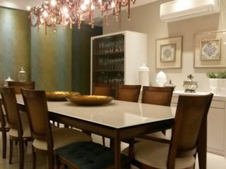 Comedores de estilo  por ALA Arquitetura e Interiores, Ecléctico