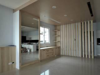 氧光-沐屋:  餐廳 by 喬克諾空間設計