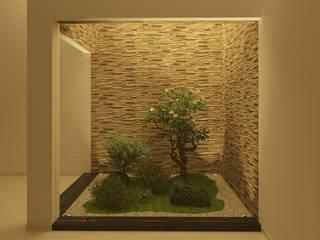 Anexos de estilo tropical de Ana Andrade - Design de Interiores Tropical