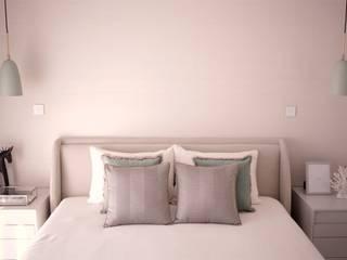 Suite apartment:   por 411 - Design e Arquitectura de Interiores,Moderno