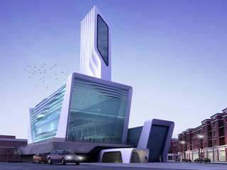 Meteor Mimarlık & Tasarım – OFİS:  tarz Ofisler ve Mağazalar