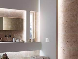 Casas de banho: Casas de banho modernas por Fases Obliquas