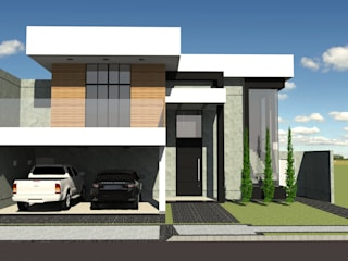 Projeto de Sobrado: Condomínios  por Arch & Design Studio