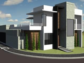 Sobrado Moderno:   por Arch & Design Studio