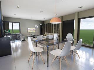 casa & suitte zenobi Comedores minimalistas de mgt_Estudio de Arquitectura + Diseño Minimalista