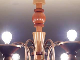 Luminaria Dutchwoood:  de estilo industrial por Fernando Borda Arquitectura de Interiores, Industrial