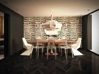 Comedor principal:  de estilo  por Fernando Borda Arquitectura de Interiores