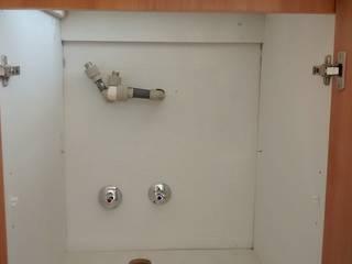Instalación de lavaplatos con mueble de Servicios Express Valparaíso Moderno