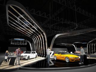 Stand Motorshow de Fernando Borda Arquitectura de Interiores