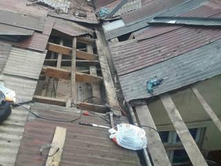 cambio de techo de Servicios Express Valparaíso