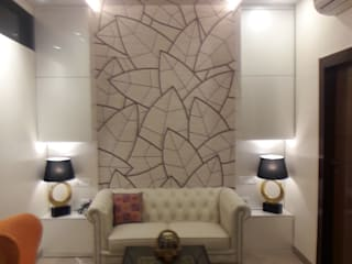 walkeshwar residence:  Corridor & hallway by Rennovate Home Solutions pvt ltd