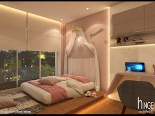 Modern style bedroom by Hinge architects Modern