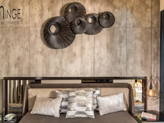 Interior:  Bedroom by Hinge architects