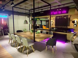 Projeto Sala Apartamento Ipanema - Rio de Janeiro: Salas de jantar  por Gelker Ribeiro Arquitetura | Arquiteto Rio de Janeiro