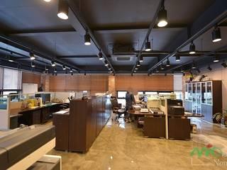 부산 카페같은 사무실인테리어 - 노마드디자인: 노마드디자인 / Nomad design의  계단