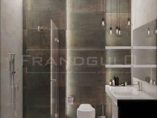 Санузел в стиле лофт: Ванные комнаты в . Автор – Frandgulo