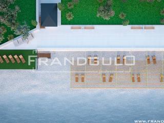Проект инфраструктуры пляжной территории: Гостиницы в . Автор – Frandgulo