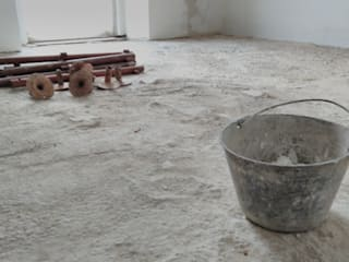 Pavimento in cemento spatolato a Milano. V&V srl