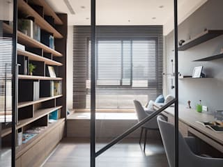 Modern Study Room and Home Office by Fertility Design 豐聚空間設計 Modern