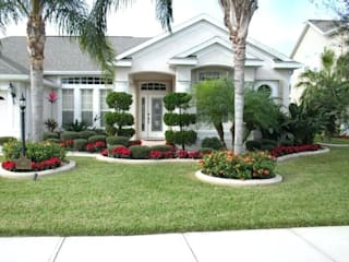 Front Yard Landscaping Design Ideas by Luxen India Architects Classic