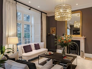 Town House in Kensington Classic style living room by Studio 29 Architects ltd Classic