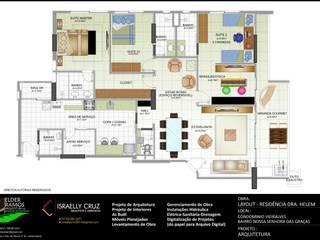 Layout  Apartamento Propostas:   por  ARQUITETOS ASSOCIADOS - AM