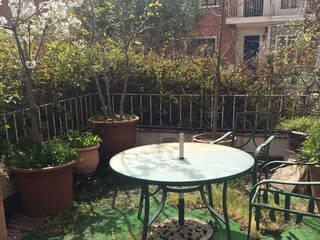Home staging terraza y salón de CASA IMAGEN