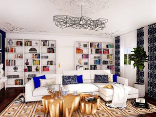 Zona de lectura: Dormitorios de estilo  de Aditum Studio