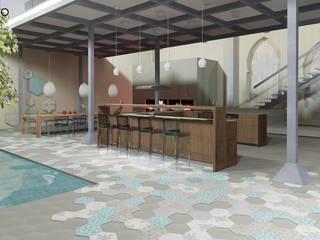 مطبخ تنفيذ MODULO Pracownia architektury wnętrz, إنتقائي