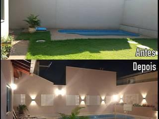 Projeto de reforma L&P: Casas  por Raquel Abdala - Arquitetura e Interiores
