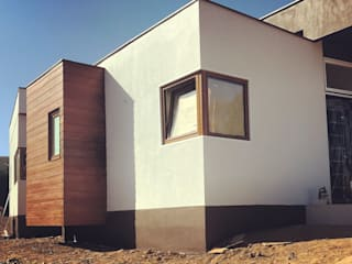 Construcción Terminada Vivienda Premium Lt37 / 125m2 / Fundo Loreto. La Serena. Territorio Arquitectura y Construccion - La Serena Casas unifamiliares Tableros de virutas orientadas Acabado en madera