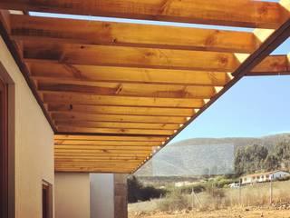 Construcción Terminada Vivienda Premium Lt37 / 125m2 / Fundo Loreto. La Serena. Territorio Arquitectura y Construccion - La Serena Casas unifamiliares Madera maciza Acabado en madera