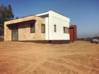Territorio Arquitectura y Construccion - La Serena Detached home Solid Wood