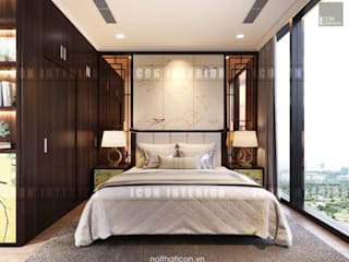 Asiatische Schlafzimmer von ICON INTERIOR Asiatisch