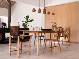 de Beyer Design Studio Eclectic style dining room